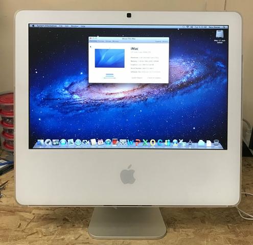 2006: Apple Intel - Mac OSX