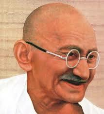 Gandhi going to college