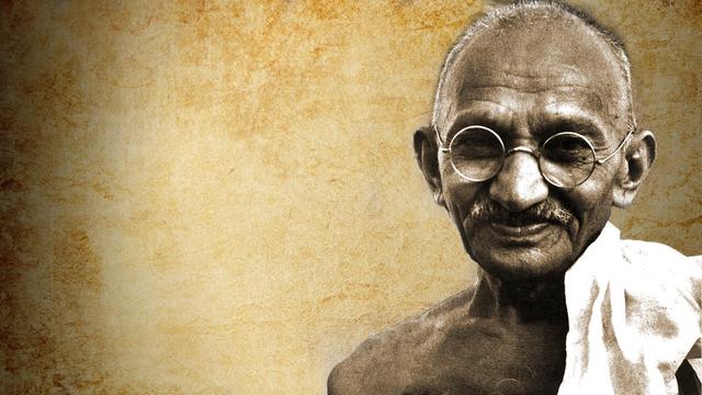 Gandhi's last breath