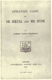 """""""The Strange Case of Dr Jekyll and Mr Hyde"""" (1886)"""
