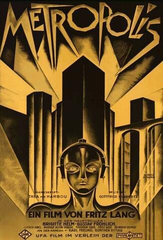 Cine de entretenimiento a cine crítico: Metrópolis