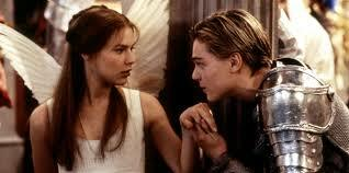 Romeo has a moment with Juliet