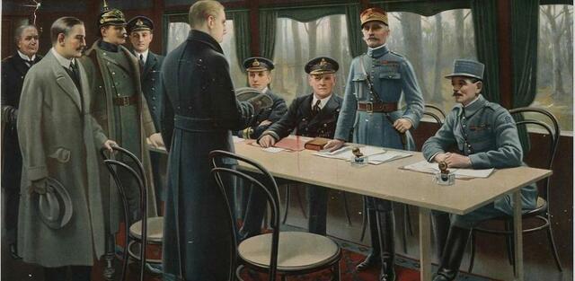 Firmado del Armisticio y fin de laGuerra