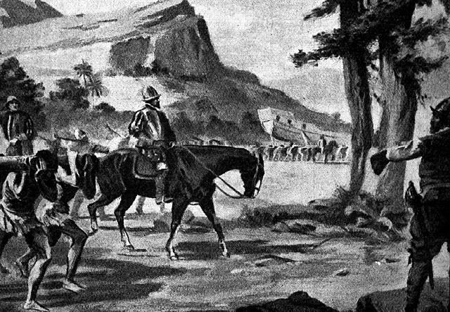 Llegada de Nuño Beltrán a Tzintzuntzan