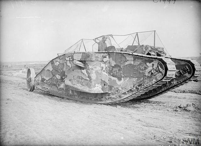 '' Le British MK 1'' Char