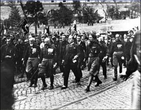 El Fascismo italiano, la marcha sobre Roma