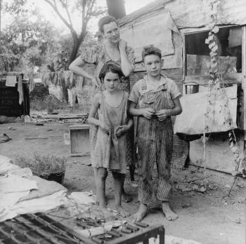 La Gran Depresión, paro y pobreza