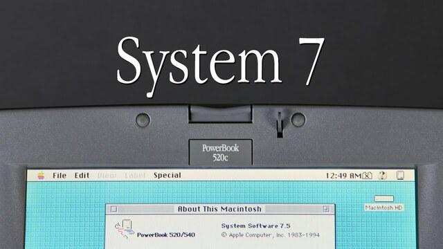 Mac System 7