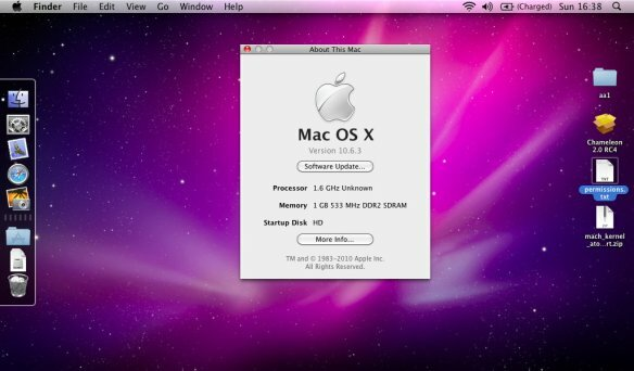 MAC OS X 10.0 Leopardo