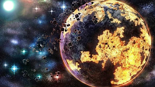 Creación de la tierra, 4.6 miles de millones de años