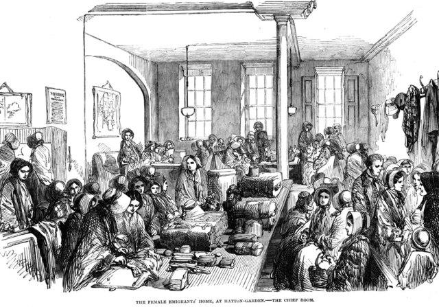Female Emigrant's Home Established By Caroline Chisholm
