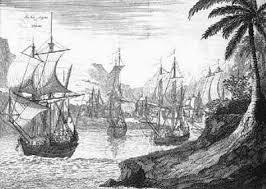 Llegada de Hernán Cortez  a Cozumel