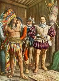 Toman a Moctezuma como prisionero