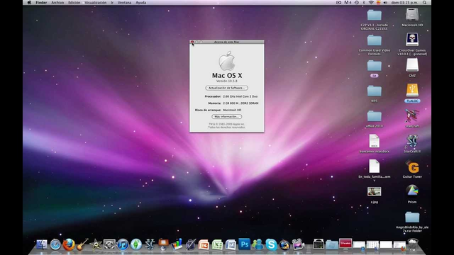 "MAC OS X 10.5 ""Leopardo"""