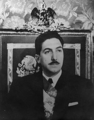 Toma de posesión Miguel Alemán Valdés