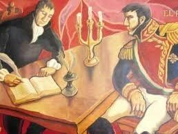Firma del tratado de Córdoba