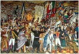 1er aniversario de la Independencia