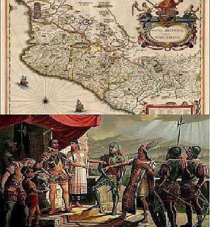 Inicio de expediciones a cargo de Nuño Beltran Guzman