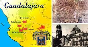 Fundaciones de Guadalajara( Nochistlan, Tonala, Tlacotlan y Valle de Atemajac)