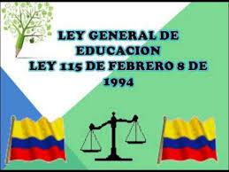 Ley 115 de 1994 Ley General de Educación