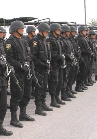 Creación de la policía federal preventiva