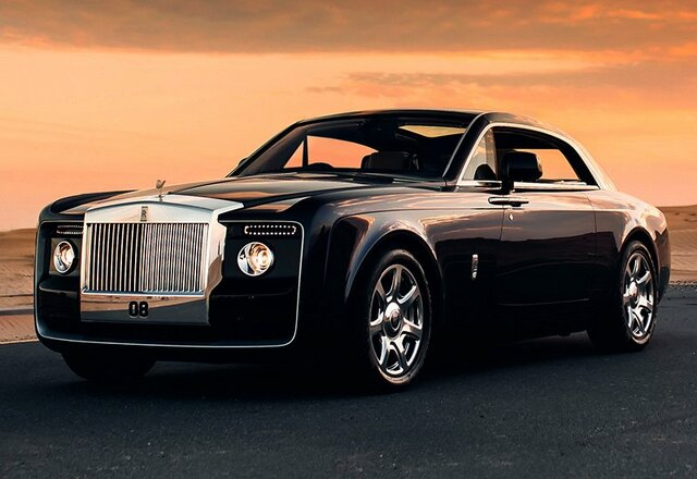 Rolls Royce sweptali