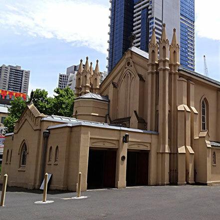 St Francis' Church is Built