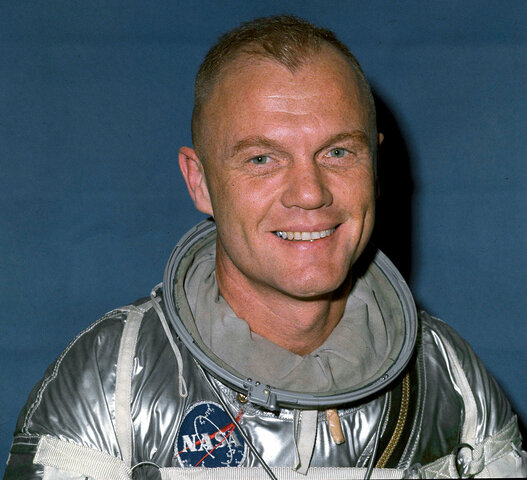 First Man to Orbit the Earth-US