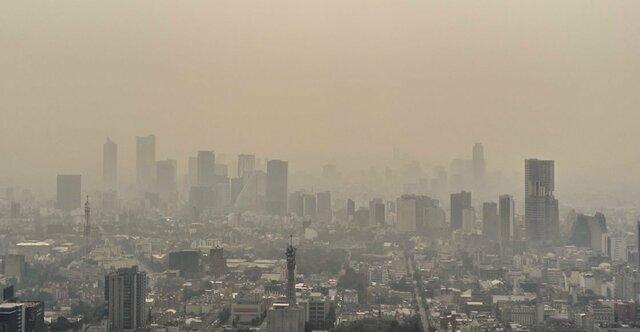 Altos niveles de contaminación en la CDMX
