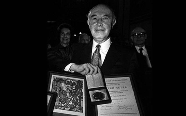 Mexicano gana premio Nobel de la Paz