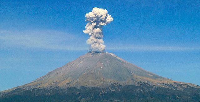 El Popocatépetl despierta