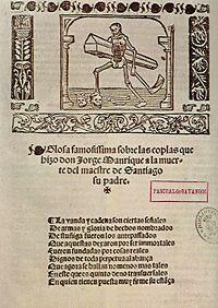 Las Coplas SIGLO XV