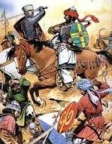 Kristauak Al Andalus konkistatzen dute.