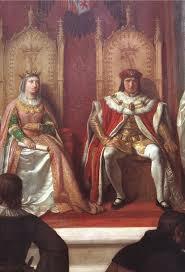 Gaztelako Isabel I eta Aragoiko Fernando II ezkondu ziren.
