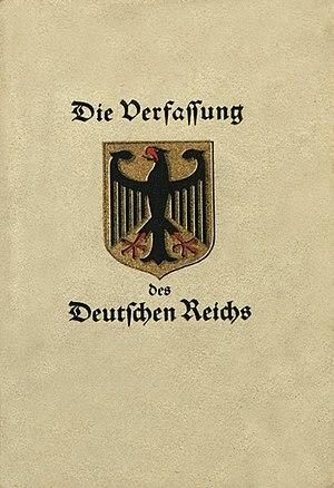 Constitución de Weimar