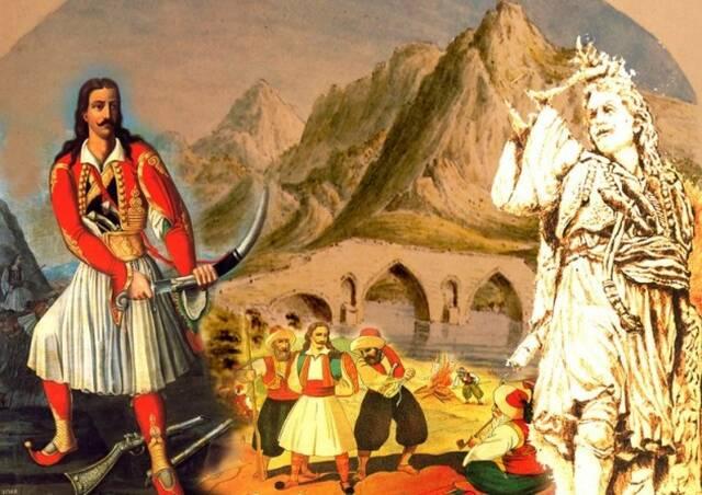 η μάχη στο γεφύρι της Αλαμάνας Αθανάσιος Διάκος