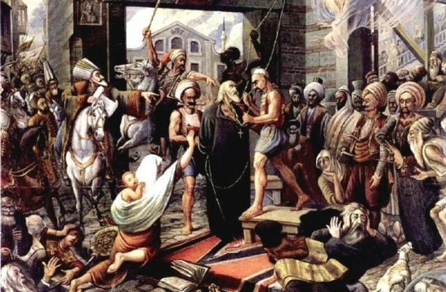 Απαγχονισμός Πατριάρχη Γρηγορίου του Ε΄
