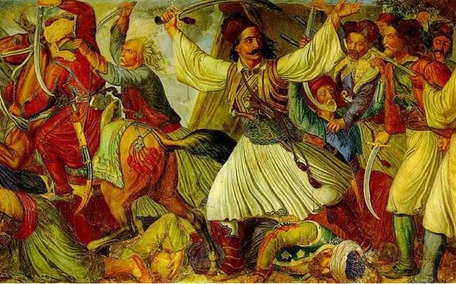 Η μάχη στο Χάνι της Γραβιάς, Οδυσσέας Ανδρούτσος