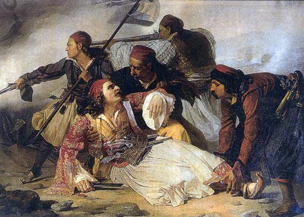 Η μάχη του Κεφαλόβρυσου, Μάρκος Μπότσαρης