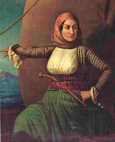 1771: Λασκαρίνα Μπουμπουλίνα