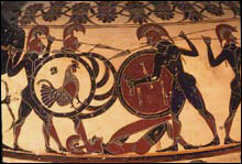 What are Hoplites?