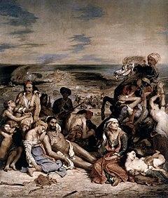 1822, Πάσχα: Η καταστροφή της Χίου