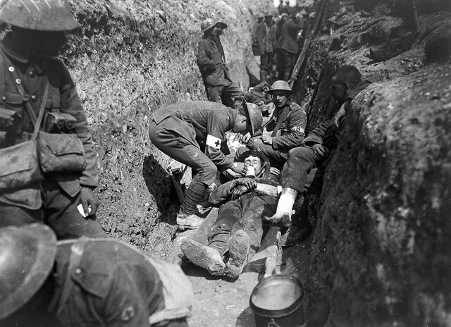 """""""Suicide in the Trenches"""" 1917"""
