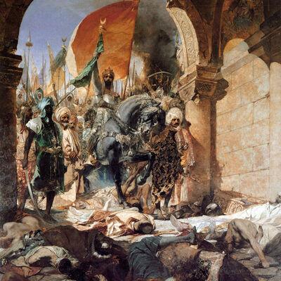 Τα γεγονότα από το Πρώτο Σχίσμα εως την Άλωση της Κωνσταντινούπολης το 1453 timeline