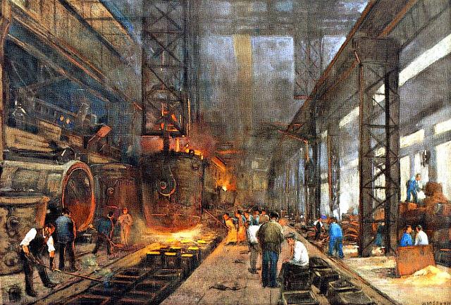 Siglo XIX, Primera aparición del concepto bienestar industrial