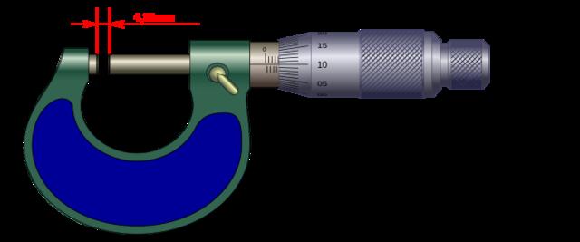 Pierre Vernier descubre el principio de división del tornillo micrométrico.