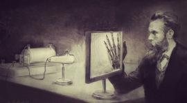 Actividad 2 Radiología : Descubrimiento de los rayos X (100 años antes) timeline