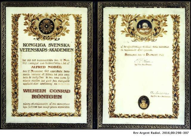 Primer Premio Nobel en física