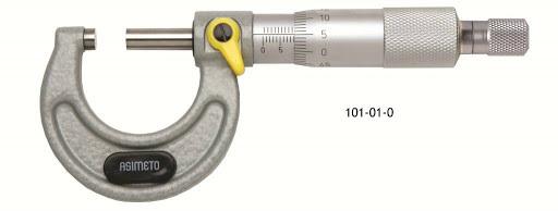 Wilmot diseño un micrómetro que medía milésimas.