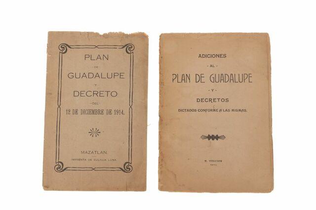 Promulgación del Plan de Guadalupe